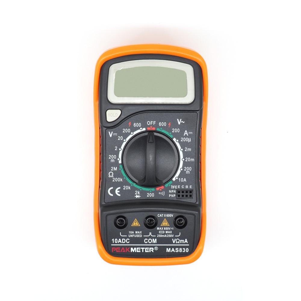 Мультиметр универсальный MAS830 Peakmeter