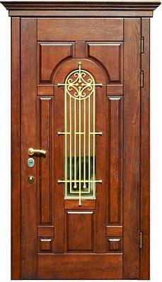Входные двери из дерева в дом