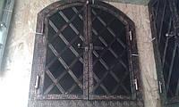 """Печные двойные  дверцы арочные""""Украина №5""""для коптилки.В наличии"""
