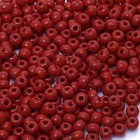 Бисер №10 Preciosa (Чехия), 93210, 10 грамм, Цвет: Красный