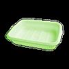 "Лоток для фруктов и посуды с поддоном ""S"" 265х190х55 мм лайм"