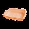 """Лоток для фруктов и посуды с поддоном """"S"""" 265х190х55 мм мандарин"""