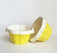 Креманка ДЖОЙ для морозива, жовта (V-80 мл) 1/1200