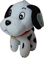 """Мягкая игрушка """"Собачка Далматинец 17 см с колокольчиком"""""""