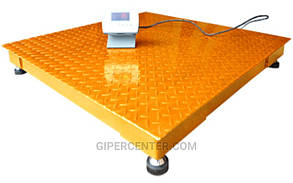 Весы платформенные электронные ЗЕВС-Эконом ВПЕ-4 1000х1000мм, НПВ: 2000 кг