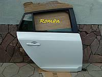 Дверь Рено Меган 3 дверь задняя правая бел.мет. универсал