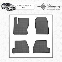 Автомобильные коврики Stingray Ford Focus 3 2011-