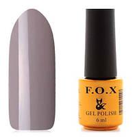 Гель-лак F.O.X  6 мл pigment №067 (теплый светло-серый)