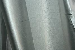 Двусторонние шторы Blackout Полоска серый+серебристый