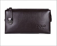 Мужское портмоне клатч Polo art 6168