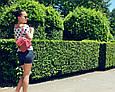 """Мини - рюкзак """"Sopfie"""" 18 - Coral pink, фото 3"""