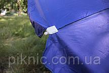 Зонт торговый 3 м. Металлические спицы. Усиленный. Прорезиненная ткань. Зонт для торговли на улице!, фото 2