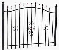 Сварной кованый забор 1700*2200  модель СГ-02