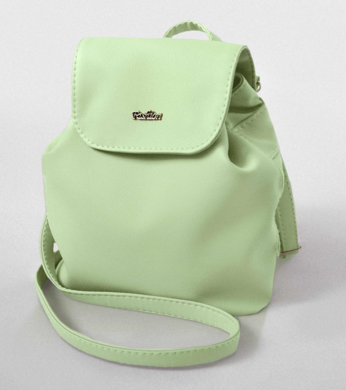 """Міні - рюкзак """"Sopfie"""" 22 - Mint"""