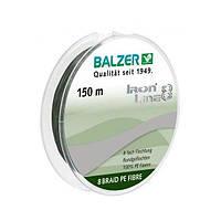 Шнур Balzer Iron Line 8x Green 150м 0.16мм  11,6кг (темно-зеленый)