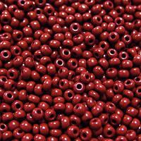 Бисер №10 Preciosa (Чехия), 13600, 10 грамм, Цвет: Красный