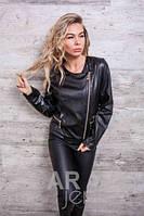 Куртка женская  эко-кожа (42-46), доставка по Украине