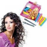 Бигуди спиральные Magic Curirollers Magic Leverage для длинных волос 50 см 18 шт