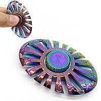 Спиннер Овальный градиент цветной метал Hand spinner, finger spinner Игрушка Антистресс