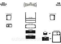 Накладки на панель Kia Sorento 2002+