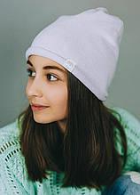 Детская шапка МЕЛОУ для девочек оптом размер 54-56