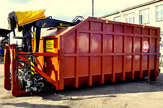 Бункер (контейнер) с манипулятором