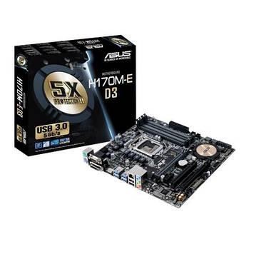 Материнская плата ASUS H170M-E D3 Intel, H170, s1151, mATX
