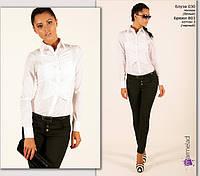 Блуза офисный стиль. Белая