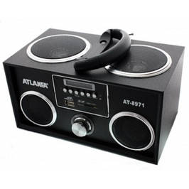 Радиоприемники, колонки, портативная акустика