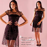 Вечернее, нарядное черное платье