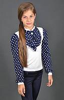 Модная нарядная блузка для девочек ,цвета разные,рост 122-152 см,S968