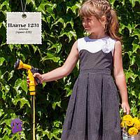 Детское летнее хлопковое платье