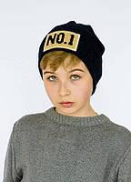 Детская шапка БРУКФИЛД для мальчиков оптом размер S - M