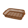 "Корзина-сетка универсальная ""S"" 265х180х52 мм шоколад"