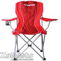 Кресло складное KingCamp Arms Chairin Steel Red (KC3818)