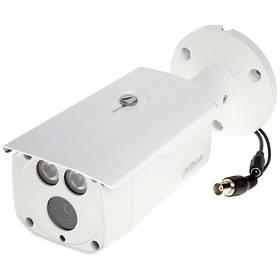 "HDCVI видеокамера Dahua DH-HAC-HFW1400DP-B . 4Мп,1/2.7"" Progressive Scan CMOS, f=3,6, 0.01L, Ик=80м, IP66"