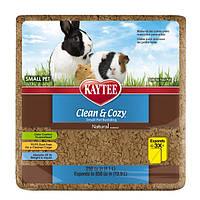 Kaytee Clean&Cozy Natural Клин&Кози ЧИСТО&УЮТНО НАТУРАЛ подстилка для грызунов, целлюлоза