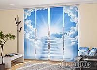 """Японские фотошторы """"Ступеньки в небо"""" 2,40*1,20 (2 панели по 60см)"""