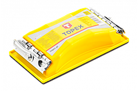 Topex Колодка для ручной шлифовки 85 x 165, металлические зажимы