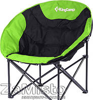 Кресло складное KingCamp Moon Leisure Chair Black/Green (KC3816)