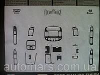 Накладки на панель Toyota Camry V30 (2003-2006)