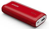 Портативное зарядное устройство Anker Astro E1 5200mAh Red (внешняя зарядка для телефона)