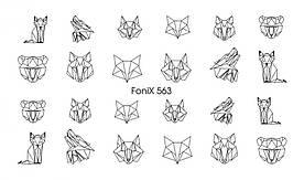 Слайдер-дизайн FoniX 563 Master Beauty