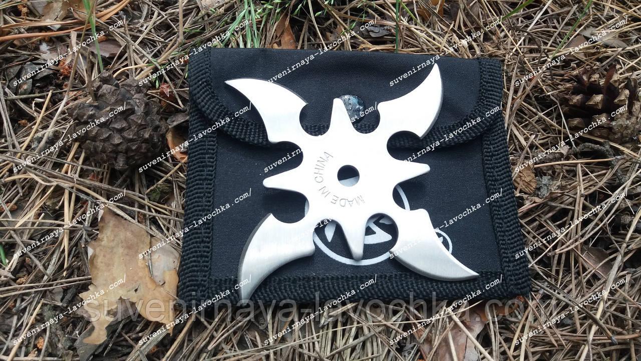 Нож звёздочка - 4 Метательный