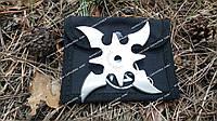 Нож сюрикен звезда - 4 Метательный