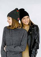 Детская шапка МЕТРОПОЛИТЕН для девочек оптом