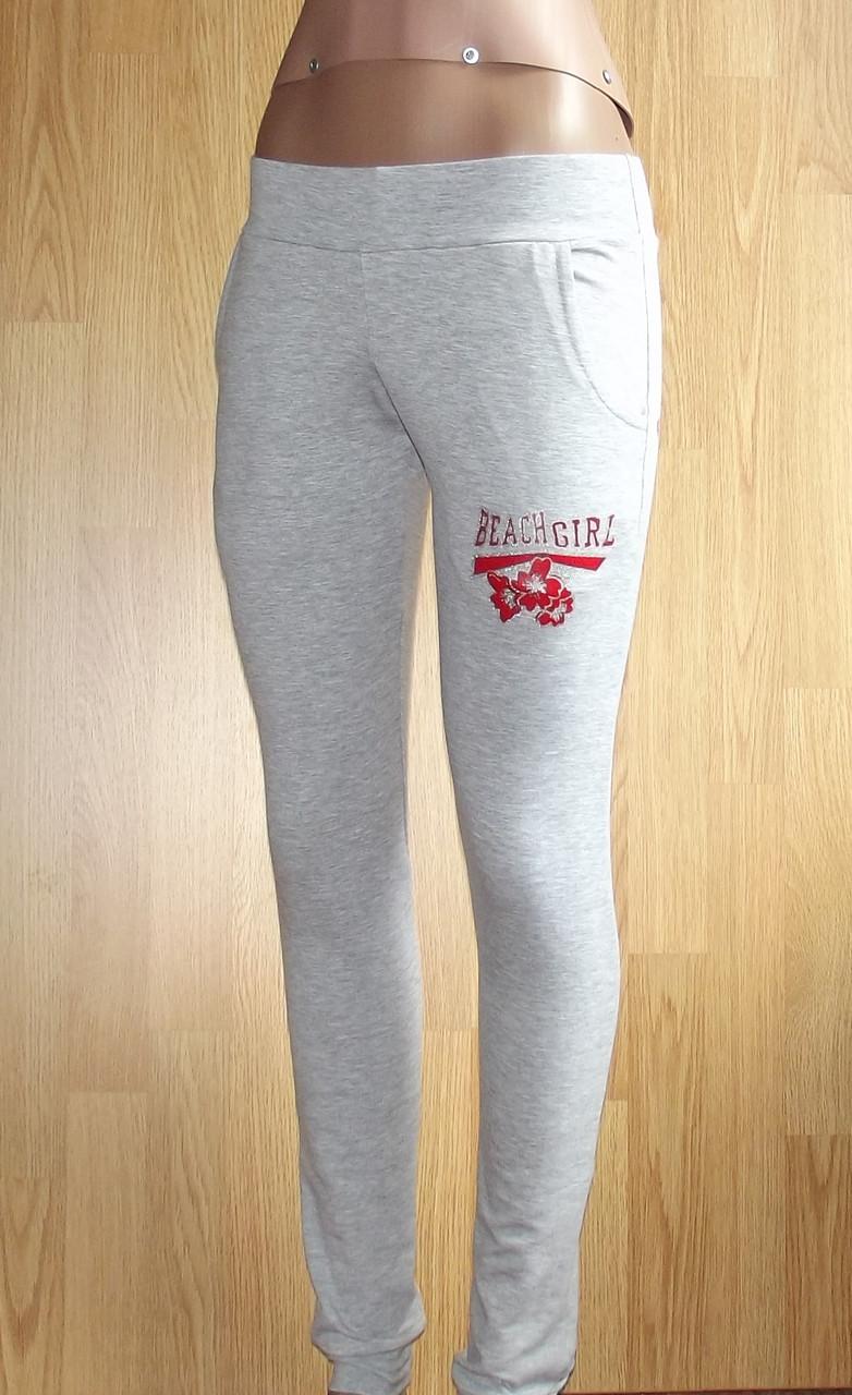Спортивные брюки с накаткой