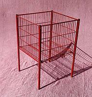Стіл для розпродажів, промо стіл, промо кошик 90х60х60 див. бу, фото 1
