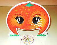 Настольная игра Прожорливые фрукты. Реквизит для логопеда Апельсин
