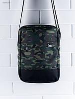 Сумка через плечо Staff зеленый камуфляж BM0003